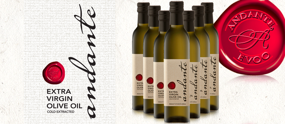 Andante extra virgin olive oil