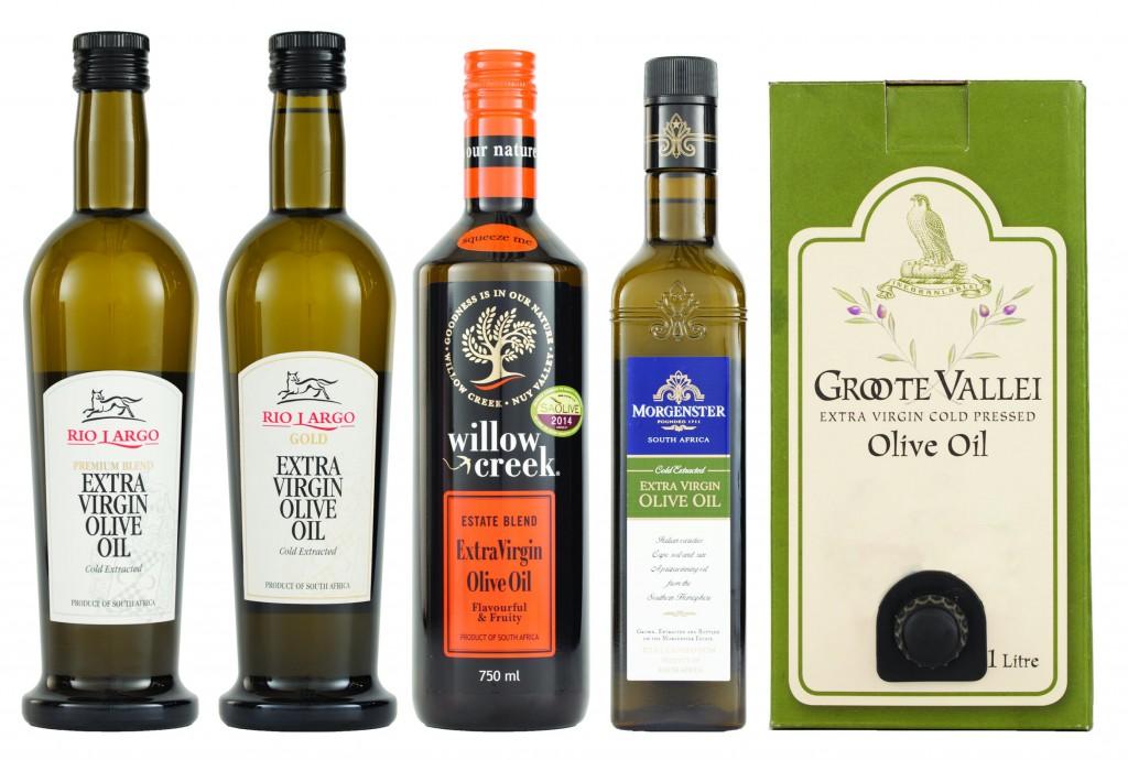 2014 ABSA Top 5 Olive Oils