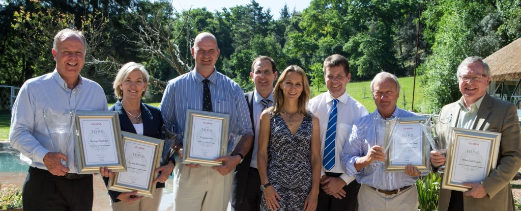 2014 Absa Top 5 Olive Oil winners