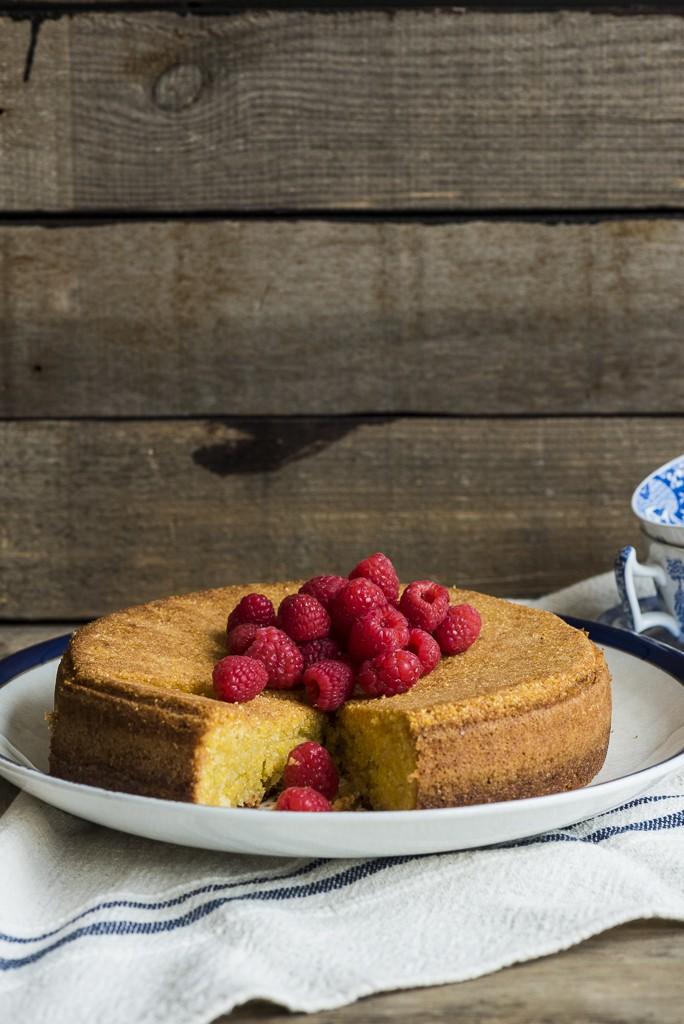 olive oil polenta cake