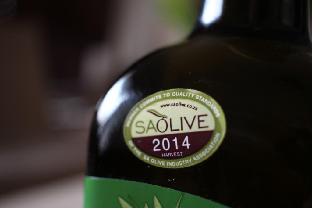 SA Olive Label
