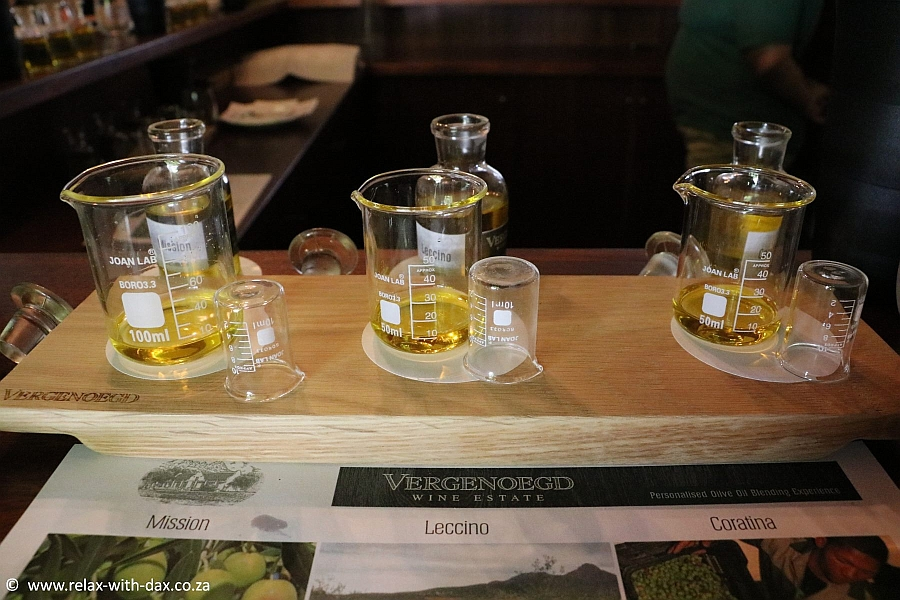 olive oil blending vergenoegd