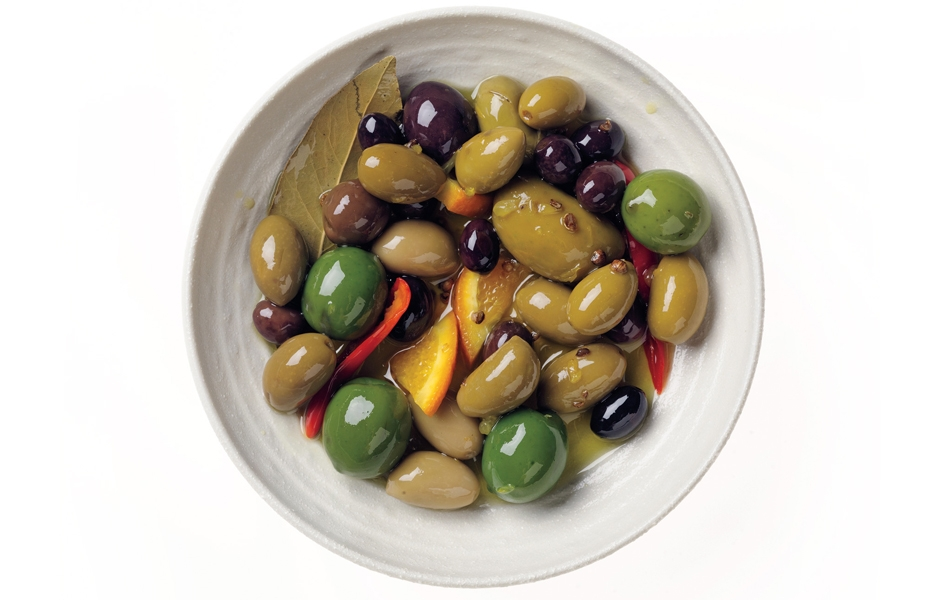 citrus-marinated-olives