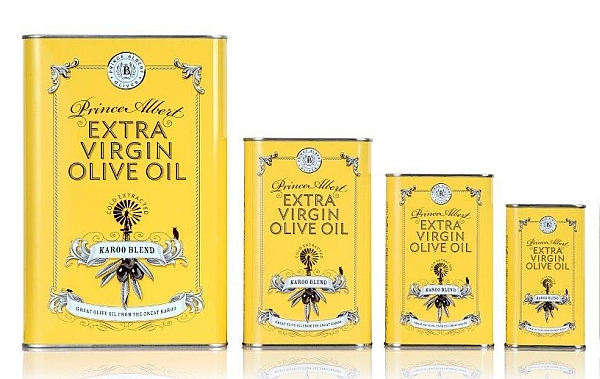 Extra virgin olive oil tins