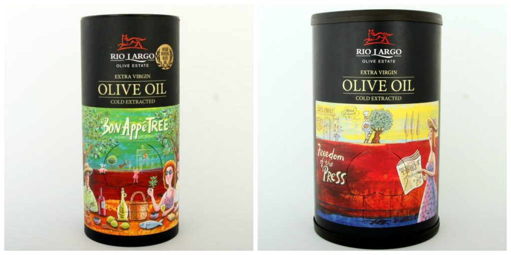 Rio Largo Extra Virgin Olive Oil 2l in a Tube